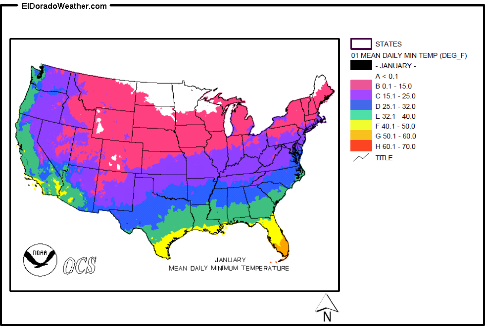 united states yearly and monthly mean daily minimum temperatures slide show gallery