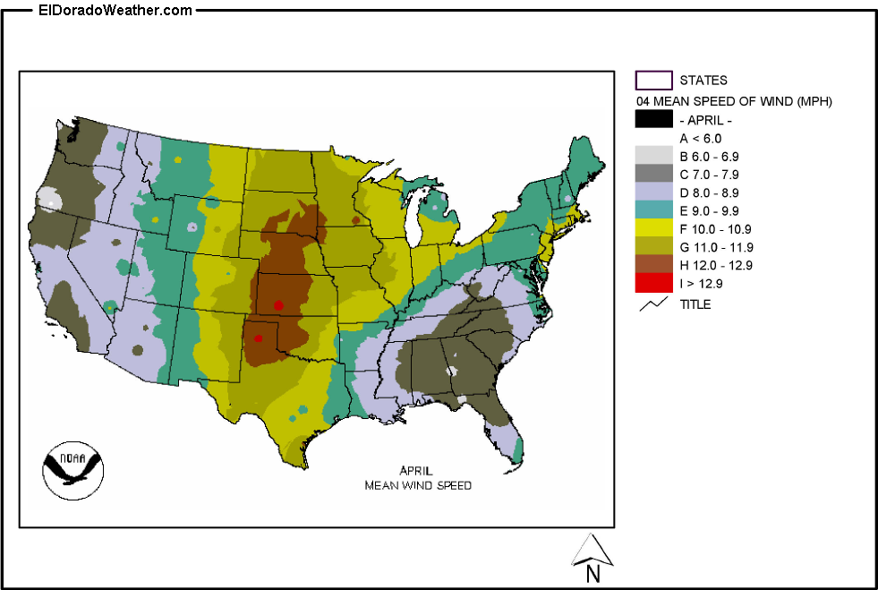 Index Of ClimateUS Climate MapsimagesLower StatesWindMean - Us average wind speed map