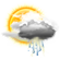 10AMweather forecast forBolivar, Argentina is Isolated Storms