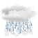Current Roros Lufthavn, Norway Weather: Mostly Cloudy with Light Rain/Snow