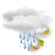 Current Bjornoya, Norway Weather: Windy with Rain Showers Likely