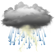 Current Westmoreland, Kansas Weather: Partly Cloudy with Nearby Thunderstorms