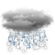 Current Hagerstown, Indiana Weather: Cloudy with Light Wintry Mix