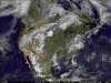 North America Color Background Satellite Thumb
